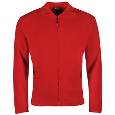 New Mens Fleece Jacket Full Zip Up Polar Work Outdoor Warm Coat Top Pockets Lot