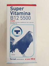 Super Vitamina B12 5500 100 ml. bottle gallos gamefowl exp.date jan-2020