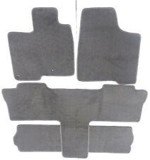 Toyota Sienna Gray Carpet Floor Mat set Fit 2004-10  7 Passenger/Captain 2nd row