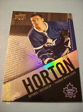 "2015-16 Upper Deck ""Tim Hortons Collectors Series"" Card # 1 Tim Horton!"