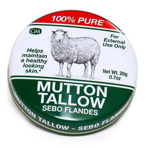 Germa Natural Mutton Tallow / Sebo flandes. Skin Moisturizer. 100% Pure. 0.7 oz