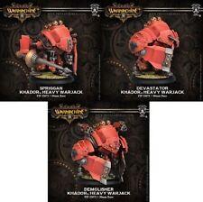 Warmachine - Khador - Demolisher + Devastator + Spriggan - PIP33073 BNIB
