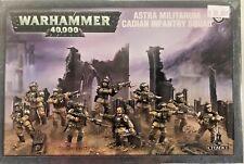 Warhammer 40K Dark Imperium Astra Militarum CADIAN INFANTRY SQUAD Guard, New