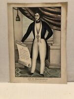 SON OF TEMPERANCE , 1848 : Published By James Bailie , New York