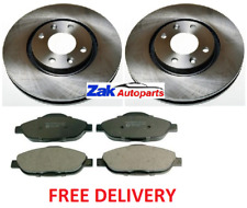 FOR PEUGEOT 308 1.4 1.6 2.0 HDi SW VTi (07-) FRONT VENTED BRAKE DISCS & PADS