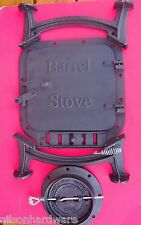 Cast Iron Barrel Stove Kit build your own wood heater Vogelzang BK100E