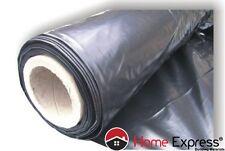 Black Plastic Sheeting Polythene Sheet - 5m x 20m - 100m² - 135 [Mu]