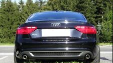 Diffusor für Audi A5 B8 8T Spoiler Heckansatz Sportback Schürze Duplex S-Line