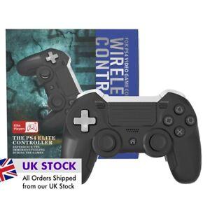 Playstation 4 PS4 Elite controller - in Black. BNIB. Full Functionality