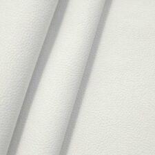 edles weiches Polster PU KUNSTLEDER Büffel Optik WEISS 140cm breit METERWARE