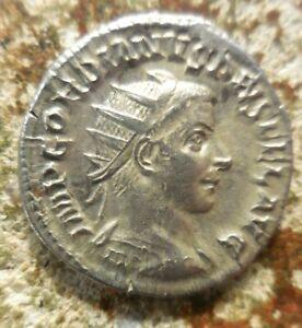 VF+ GORDIAN III 238-244 AD. Antoninianus. Sol standing facing, 22 mm, 4.89 gms