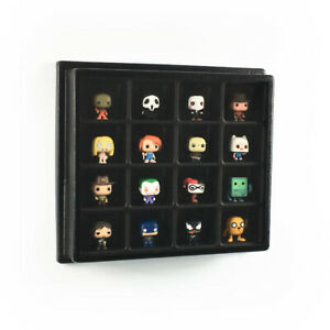 Minifigure Display Case, Dust Cover and wall mount. Lego, Funko pocket Pops