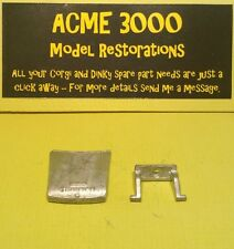 Dinky 162 Triumph 1300 Reproduction Repro - White Metal Bonnet & Hinge