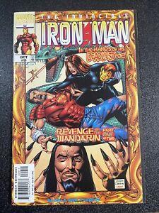 Iron Man 9 (1998) 1st Winter Guard (Ursa,Red Guardian etc)Key Marvel Comic VF/NM