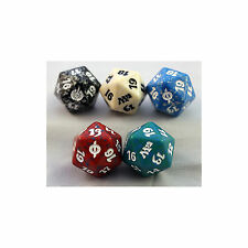 Magic: the Gathering Assorted Spindown D20 Dice Set of 5 (One of Each Color) MTG