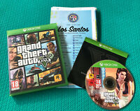 Grand Theft Auto V - GTA 5 - Microsoft Xbox One - Complete With Map- VGC