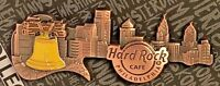 Hard Rock Cafe Philadelphia Pin Core 3D Skyline Guitar HRC New LE Pennsylvania