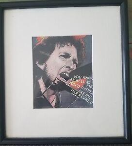 "Julian Allen original drawing  illustration art of ""Bob Dylan"" Listed"