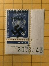 Germany FRANCE (Colmar) WWII-GERMAN OCCUPATION  4 Fr.  MNH Priv. issue