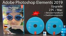 Adobe Photoshop Elements 2019 Upgrade Box + DVD Win/Mac + Anleitung OVP NEU