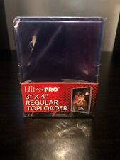 Hard Plastic Baseball Trading Card Topload Holders Card Sleeves Good 25 Pack