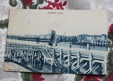 CPA Ostende Belgique Le port 1913