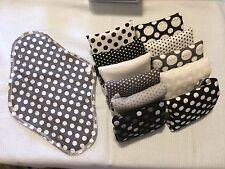 Set/12 Reusable Menstrual Pads  NWOT Momma Cloth Gladrags LunaPads W/ Wet Bag