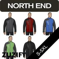 North End Mens Embossed Color-Block Soft Shell Jacket. 88176
