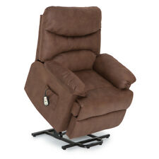 Seatcraft Prescott Power Lift Reclinable Fabric Chair with Extended Recline