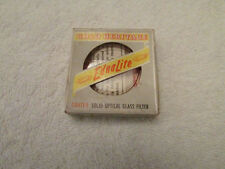 Vintage Ednalite Gold Heritage Glass Filter Lens Chrome Camera Accesseries CTY-2
