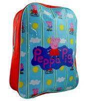 Peppa Pig 'Bicycle' Arch School Bag Rucksack Backpack Brand New Gift