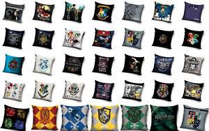 Harry Potter Motiv Kissenbezug Kissen Hülle 40x40 cm Hogwarts Gryffindor Hermine