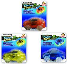 Mindscope Twister Tracks Trax Light-up LED 360 Sport Car Series (3 Vehicles )