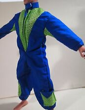 "Max Steel by Mattel (1998) 9.5"" inch Sky Divers Flight Jump Suit"