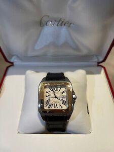 Cartier Santos 100 Medium Ref# W20107X7