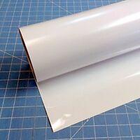 "Siser Easyweed Adhesive Vinyl White 15"" 3' Iron Heat Transfer Roll HTV"