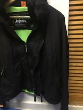 """SUPER DRY JAPAN THE WIND -CHEATER BOMBER BOYS WINTER JACKET SIZE UK M/CHEST 36"""""""