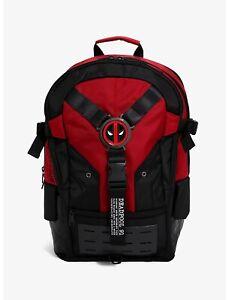 new Marvel Deadpool built-up backpack bag official Bioworld MSRP $75