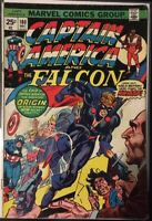 Captain America and The Falcon #180 Marvel 1974 1st App of Nomad Comic Book