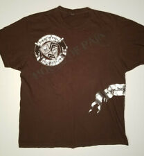 HOUSE OF PAIN wrap-around 2-sided Brown Crest Logo T-SHIRT Size L Large RARE