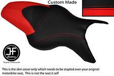 RED & BLACK VINYL CUSTOM FITS BMW K 1200 R 05-08 K 1300 R 09-13 DUAL SEAT COVER