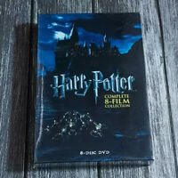 Harry Potter Complete 8-Film Collection (DVD, 2011, 8-Disc Set) Fast shipping