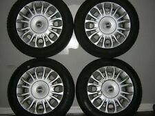 Fiat Punto MK2 Alloy wheels, 4x Fiat-badge ornaments 2x Goodyear 2x Mohawk Tyres