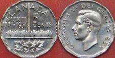 Brilliant Uncirculated 1951 Canada Refining 5 Cents