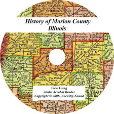 1909 History & Genealogy of Marion County Illinois, IL