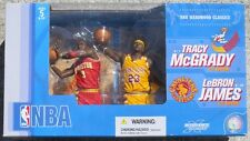 Lebron James Cleveland Cavs Tracy McGrady Houston Rockets McFarlane Figures NIB