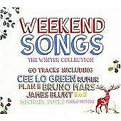 WEEKEND SONGS - VARIOUS - 60 TRACK 3 X CD SET - BRUNO MARS / BETTE MIDLER +