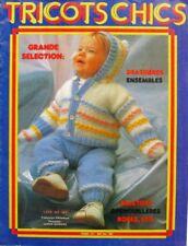 Revue de mode Catalogue de tricot - Tricots Chics n°223 - Enfants - 1981