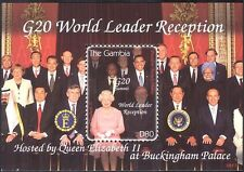 Gambia 2009 Queen Elizabeth II/Obama/Politics/People/Royalty 1v m/s (n43900)