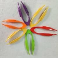 Kindergarten Science Learning Resources Plastic Kids Tweezers Educational 1PC